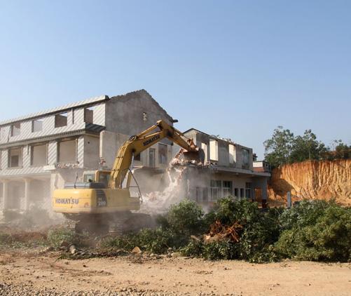 武汉房屋拆除