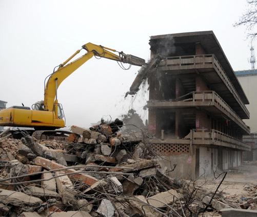 武汉工厂拆除