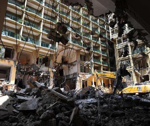 武汉酒店拆除