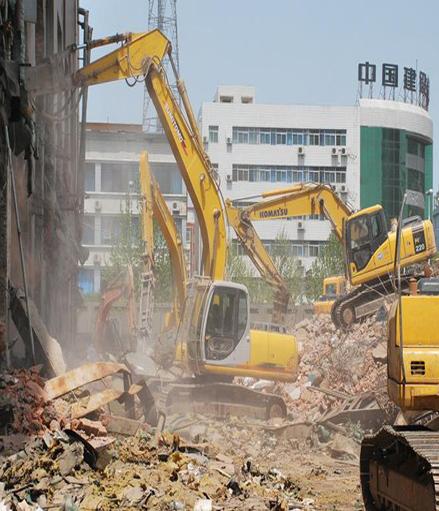 武汉酒店拆除工程案例